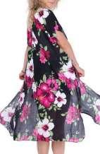 Floral Pink Kimono Cape