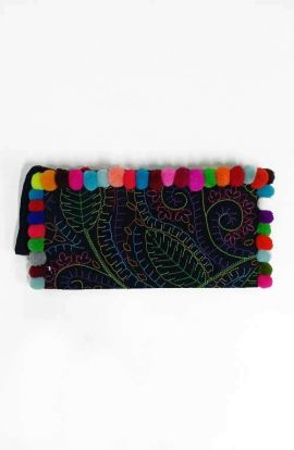 Colorful Flower Garden Clutch