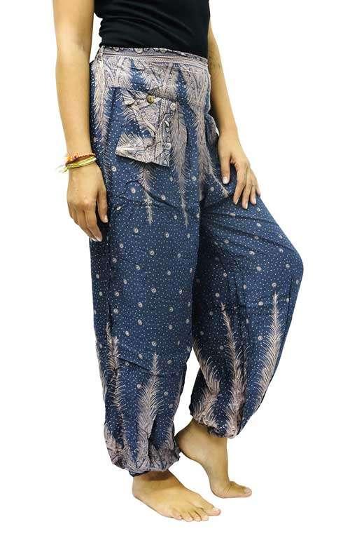Harem Pants - Feather