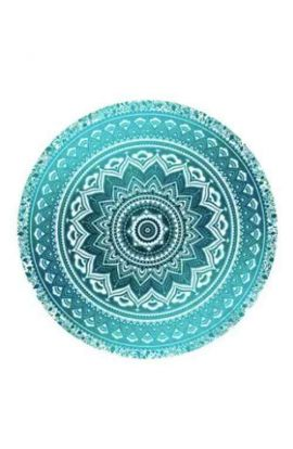 Round Tapestry Beach Throw Rug - PP