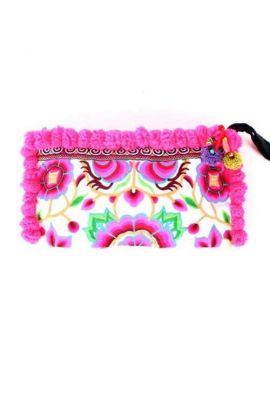 Lou Lou Clutch Bag - Garden Pink