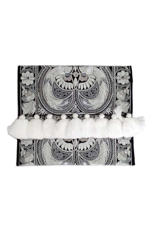 Alexa Clutch Bag - Snow White