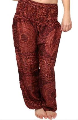 Honey Hive Harem Pants - Bronze
