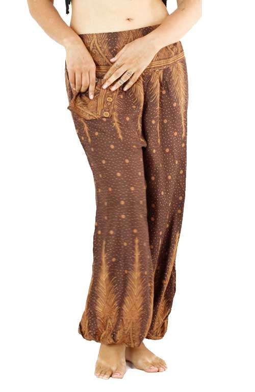 Harem Pants - Rustic Feather