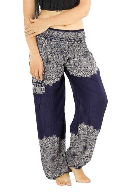 Mandala Print Pants  Mandala  Pattern Pants  Mandala  Thailand  High Waist Pants  High Waist
