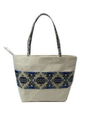 Hemp Tote Bag - Vintage Blue
