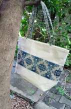 Large Tote Hemp Bag