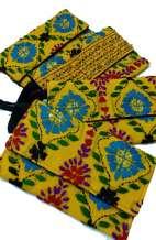 Tie Dye Web Clutch