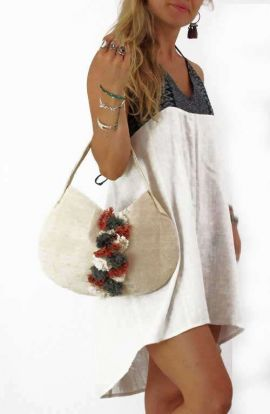 Nora Small Hemp Tote Bag