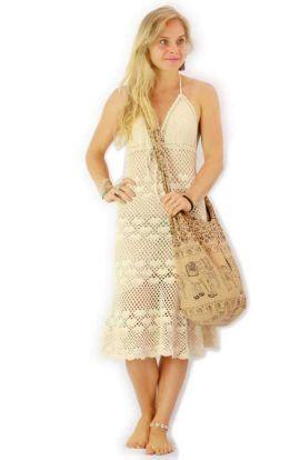 Wicker Clutch Bag