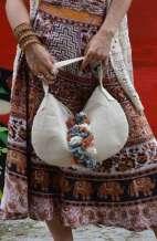 Nora Small Hemp Tote Bag
