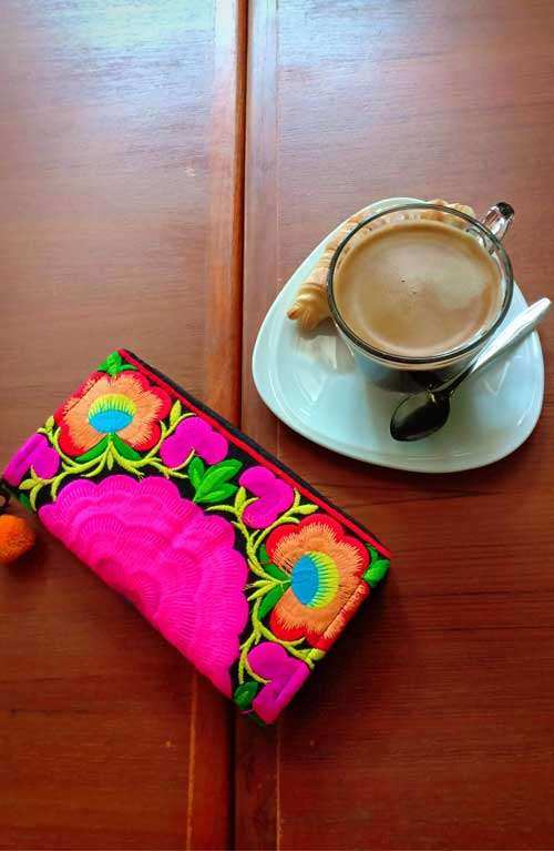 Women's Wallet - Rose Garden