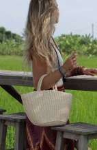Soft Straw Tote Bag
