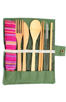 Bamboo Wooden Cutlery Set
