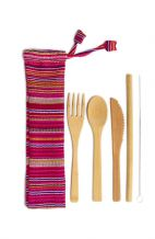 BAMBOO CUTLERY WITH POUCH