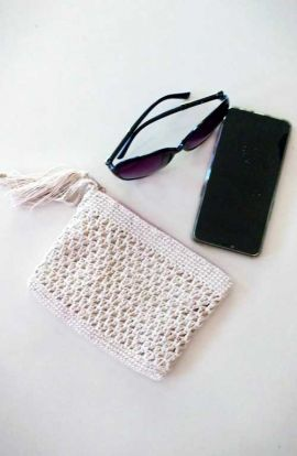 Handwoven Cross Body Purse