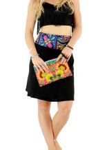 Offbeat Wristlet - Sunrise Flower