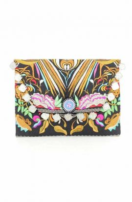 One of a Kind Vintage Boho Clutch