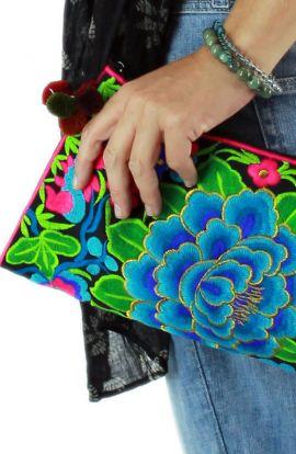Cross Body Bag - Ocean Rose