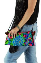 Cross Body Bag - Ocean Rose