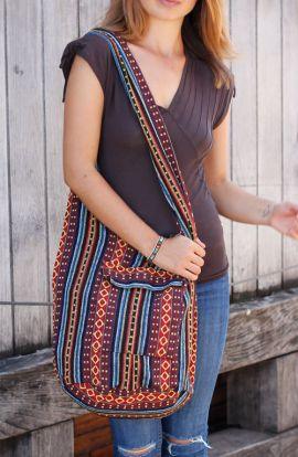 Cross Body Bag - Striped