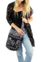Crossbody Bag - Black Elephant