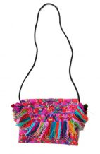 Cross Body Bag - Twin Nok Multi Tassel