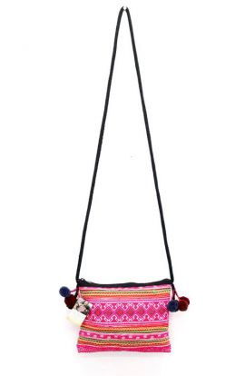 Vintage Cross Body Bag - Pink