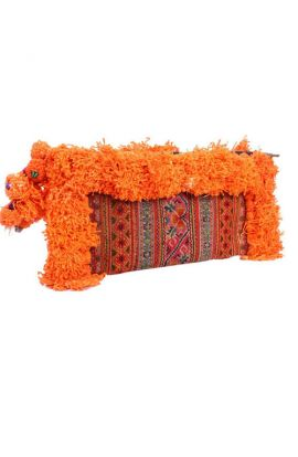 Adalee Vintage Clutch - Burnt Orange