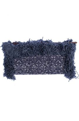 Adalee Batik Clutch - Black