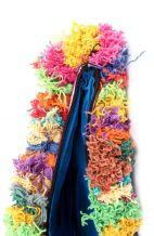 Tribal Cross Body Bag with Tassels
