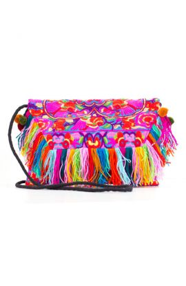 Trendy Vintage Fabric Handbag