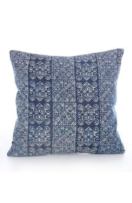 Batik Blue Cushion Cover