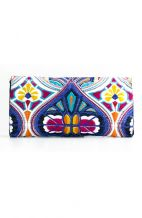 Small White Tahj Clutch Bag
