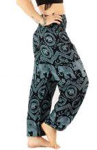 Elephant Harem Pants - Black
