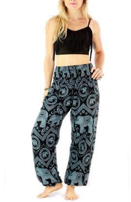 Pantalones Elefante - Azul