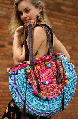 Large Vintage Boho Hippie Bag