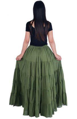 Jupe longue ou robe transformable Mandala
