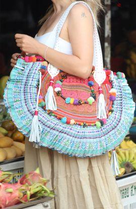 Hemp Cross Body Handbag
