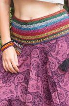 Boho Hippie Harem Pants - Paisley