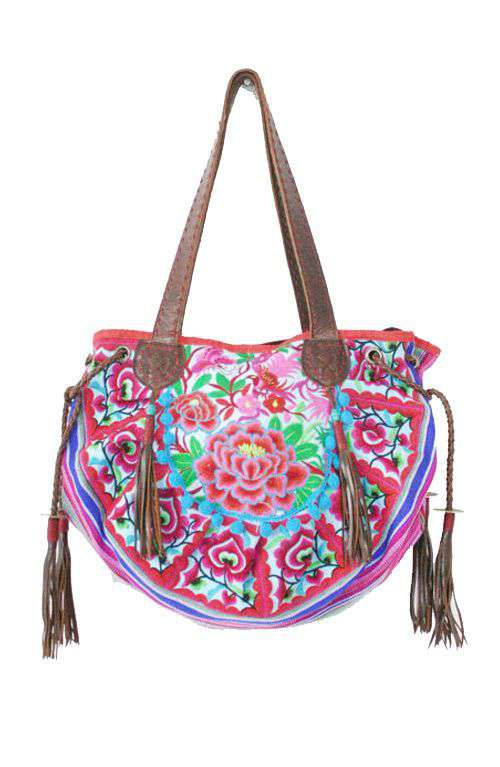 6e628f280b60 Rose Pink shoulder Bag - Rose Pink embroidered Bag - Rose Pink boho Bag