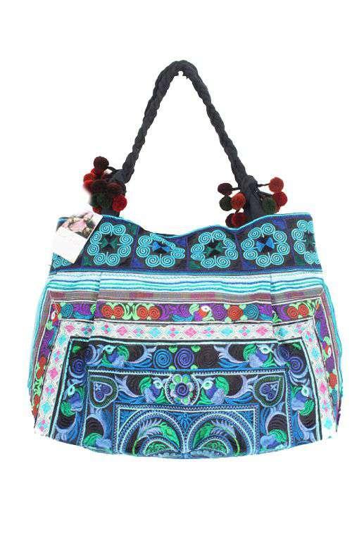 Sandy Beach Bag - Blue Bird