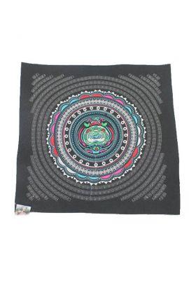 Silver Circle Fabric
