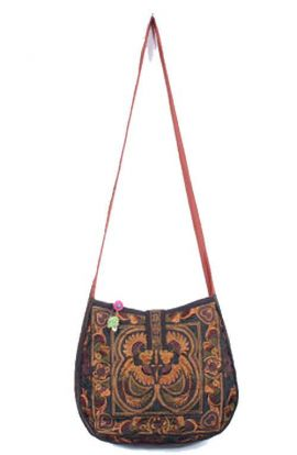 Cross Body Bag - Mocha Bird
