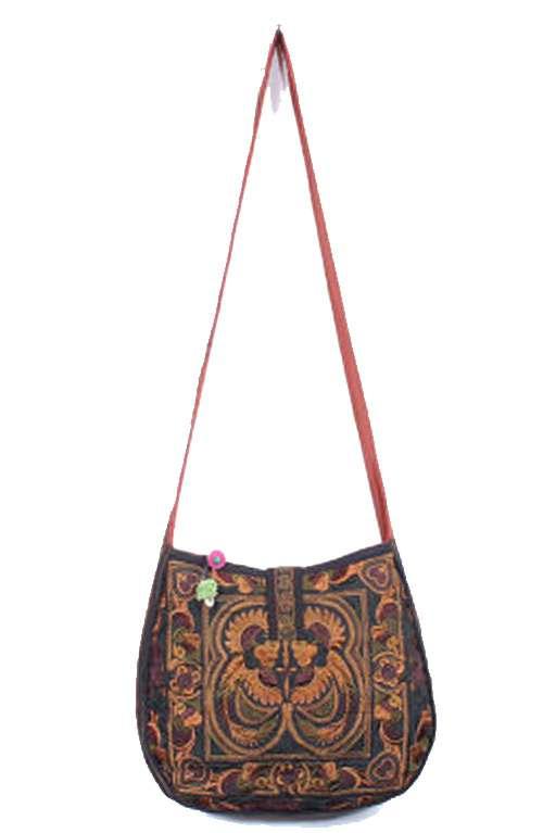 Handmade Mocha Tote Bag