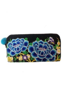 Colorful Boho Leather Wallet