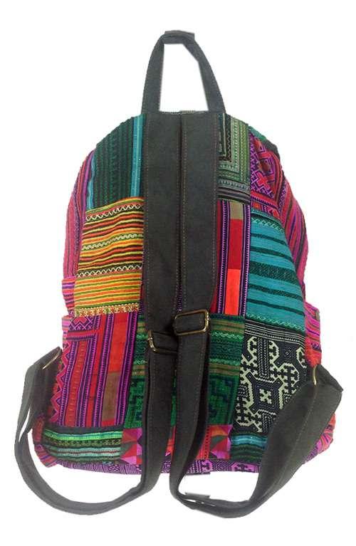 Multi Colored Backpack Multi Colored Boho Backpack