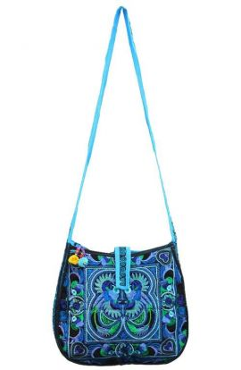 Cross Body Bag - Blue Bird