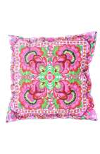 Cushion Cover - Pink Flower