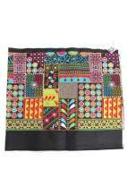 Embroidered Fabric - Afghan Patchwork